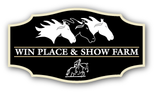 Win Place & Show Logo